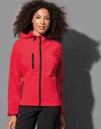 Active Softest Shell Hooded Jacket for women